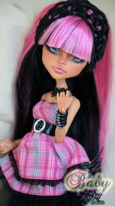 OOAK Monster High Custom Repaint Cleo de Nile by by RogueLively