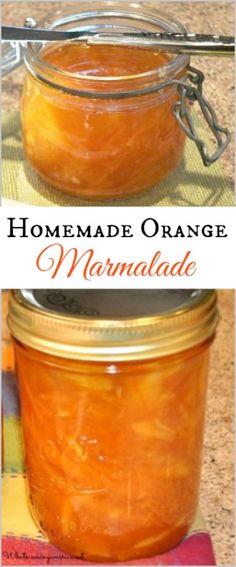 I love a delicious homemade orange marmalade. This is the perfect recipe to enjoy on breakfast toast. Jelly Recipes, Dessert Recipes, Drink Recipes, Desserts, Orange Jam Recipes, Marmalade Jam, Homemade Jam Recipes, Oxtail Recipes, Canning Recipes