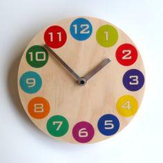 Objectify Multicolor Dot Wall Clock - Medium Size