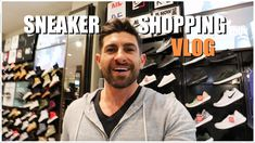 """COME SNEAKER SHOPPING WITH ME! (alpha m. shopping VLOG) 