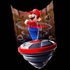 Spin Drill Mario | Super Mario Galaxy 2