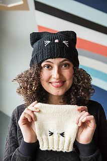Ravelry: C'Mon, Cat Happy! pattern by Pattymac Knits My Knit Picks pattern! Ravelry: C'Mon, Cat Happy! pattern by Pattymac Knits My Knit Picks pattern! Muster von Pattymac Knits – Anita's…ITS My Businesss – Join the world of pin pattern by P Baby Knitting Patterns, Baby Hats Knitting, Easy Knitting, Knitting For Beginners, Loom Knitting, Knitted Hats, Crochet Patterns, Afghan Patterns, Knitting Stitches