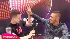 Interview: Nadav Guedj (Israel) @ Eurovision 2015 first rehearsal | wiwi...