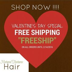Happy Valentine's Day from Natural Textures Hair!!!!