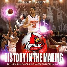 Road to final four University Of Louisville Basketball, Louisville Cardinals Basketball, Final Four, March Madness, I Card, History, Sexy Men, Sports, Count