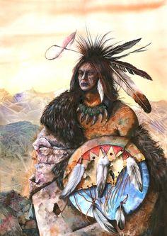 Seeking Vision. Peter Williams. Watercolor