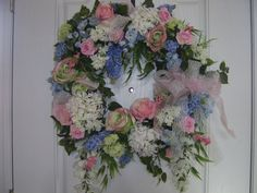 Elegant Wreath by TheVictorianBouquet on Etsy, $105.00