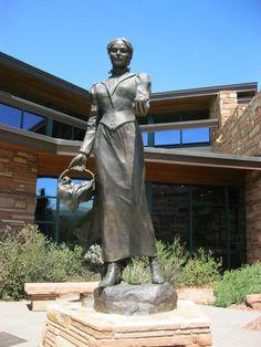 How Sedona Arizona Got Its Name ....Sedona Schnebly 1877- 1950
