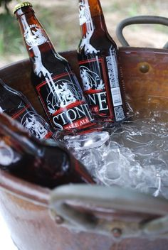 Summertime... where the livin is easy.  #craftbeer #stonebrewing