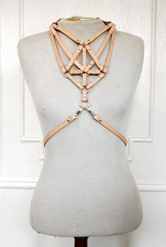 """zana bayne necklace harness"".........i can't even. my boobs would be going NUTS"