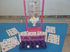 #lectoescritura EL bingo o loto de las vocales materiales manipulativos