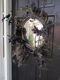 old doors halloween | 40 Cool Halloween Front Door Decor Ideas
