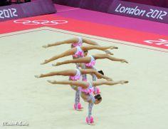 Russian Rhythmic Gymnastics Team - London Olympics 2012