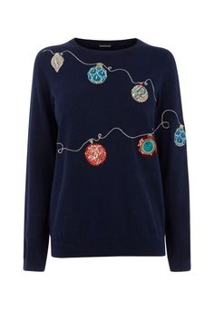 The best Christmas jumpers of 2019 will work beyond December, here are our Editors' picks of the 31 festive sweaters to shop now. Cute Christmas Jumpers, Xmas Jumpers, Christmas Party Outfits, Christmas Fashion, Ugly Christmas Sweater, Christmas Puns, Christmas Gifts, Thanksgiving Outfit, Christmas Knitting