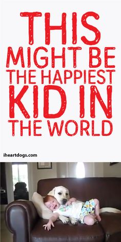 This Might Be The Happiest Kid In The World! :)