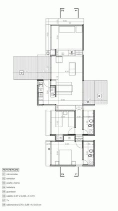 AV House / BAK Architects plan
