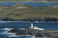 Valentia Island Lighthouse in distance Clare Island, Surf, Most Beautiful Images, Star Wars Film, Kayak, Short Break, Island Life, Beautiful Beaches, Around The Worlds