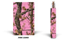Vision Spinner Vape Wrap Vapor Mods Skin Decal Vaporizer Pen Sticker PINK CAMO #VISIONSPINNER