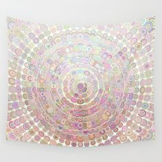 Happy Floral Mandala Magic Wall Tapestry by Mandala Magic by David Zydd - Small: x Tapestry Bedroom, Wall Tapestry, Mandala Tapestry, Mandala Art, Art Nouveau Poster, Water Color World Map, Vintage Art Prints, Magic Art, Flower Mandala