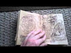 Gravity Falls Book 3 Replica - YouTube