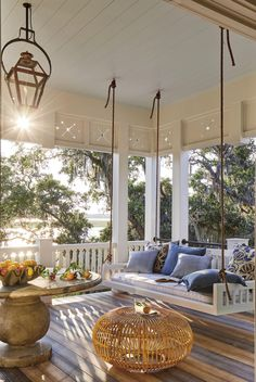 Outdoor Spaces, Outdoor Living, Outdoor Balcony, Outdoor Decor, Outdoor Pergola, Diy Pergola, Outdoor Seating, Indoor Outdoor, Southern Living Homes