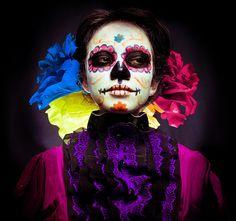 La catrina by Michelle Avendaño, via Flickr. Shifty.