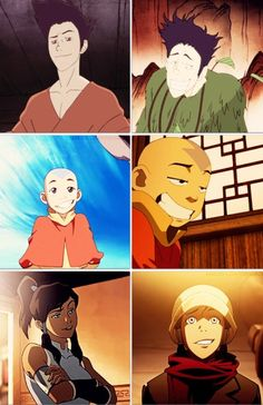 The Legend of Korra/ Avatar the Last Airbender: they have the best facial…
