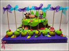Masha and The Bear Cake - Masa i medved torta by Balerina Torte Jagodina Rodjendanske Torte, Masha And The Bear, Balerina, Bear Cakes, Cake Pops, Birthday Cakes, Projects To Try, Sweets, Tv