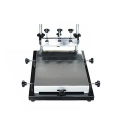 (138.00$)  Watch more here - http://aislp.worlditems.win/all/product.php?id=32511367762 - Free ship by DHL 1pc single color screen printer T-shirt screen printing machine 24*30cm flat printing press