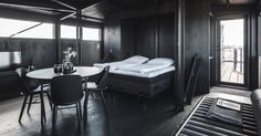 Copenhagen coal crane becomes a couple's retreat and spa