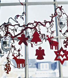 Christmas Cut-Outs Garland