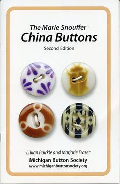 China stencils discovered by Bob and Marie Snouffer Stencils, Types Of Buttons, Button Art, Sewing Notions, Vintage Buttons, How To Make Beads, Vintage Sewing, I Am Awesome, Buttons