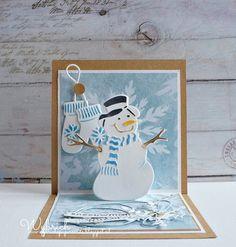 Cards made by Wybrich: Marianne Design challenge 144
