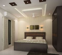 Ceiling Design For Bedroom With Fan
