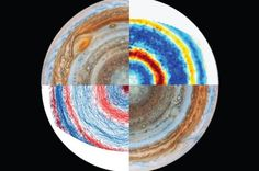 One mystery has been whether the jets exist only in the planet's upper atmosphere – much like Earth's own jet streams – or whether they plunge into Jupiter's gaseous interior. If the latter is true, it could reveal clues about the planet's interior structure and internal dynamics.  Scientists have simulated Jupiter's jets in the laboratory for the first time, which indicates that the winds likely extend thousands of miles below Jupiter's visible atmosphere.