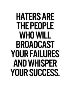 Who Will Broadcast Your Failures - Popular Quotes