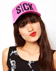 Pink Snapback Cap http://asos.to/10GxhxU