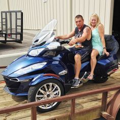 Thanks to Mark and Lisa Rushing from Lena MS for getting a 2016 Can Am Spyder RT at Hattiesburg Cycles