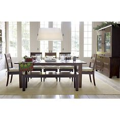 """Basque Java 82"""" Dining Table in Dining Tables 
