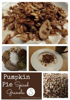 Pumpkin Pie Spiced Granola