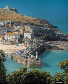 I love this place St Ives Cornwall, Devon And Cornwall, St Ives England, Cornwall Beaches, Yorkshire England, Yorkshire Dales, Holiday Places, Seaside Towns, London England