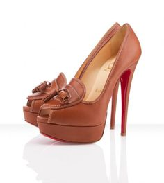 Christian Louboutin Alta Campus 150mm Noce High Fashion Models, Louboutin Shoes Outlet, Christian Louboutin Sandals, Louboutin Pumps, Shoes Uk, Pump Shoes, Shoe Boots, Peep Toe Pumps, Stiletto Heels