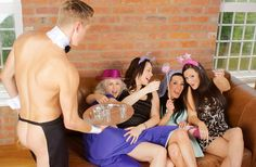 Naked Butler Hen Party Package in Newcastle with hotel from £69pp