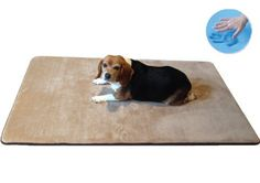 """Durable Washable Memory Foam Coral Fleece Waterproof Pet Dog Bed Mat pillow Topper Large 42""""X28"""" crate size - http://www.thepuppy.org/durable-washable-memory-foam-coral-fleece-waterproof-pet-dog-bed-mat-pillow-topper-large-42x28-crate-size/"""
