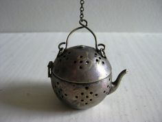 teapot shaped tea infuser  This is just too cute to not be pinned.