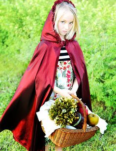 Children Child Photography Portrait Photographer #session #poses #ideas #themes So much fun @ this commercial shoot www.traceyleighphotography.comRed Little Riding Hood - Session for The Measure Designs latest look. #kids #props