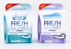 Favorite Find Friday: Fresh Guard by Efferdent Dental Health, Dental Care, Dental Floss, Oral Health, How To Clean Retainers, Retainer Cleaner, Get Whiter Teeth, Teeth Care, Skin Care