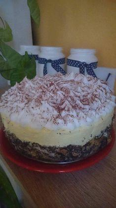 Mákosguba torta – Nagyon egyszerű, de nagyon nagyszerű desszert!