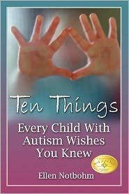 With one out of every 80 boys being diagnosed with Autism, this is a wonderful guide to help teachers, caregivers, neighbors--anyone who cares, really--about kids on the autism spectrum. This is the best book ever. i gave it to me two austic childrens teachers. They loved