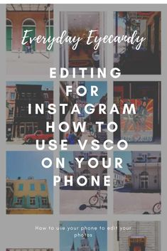 Editing for Instagram, how to use VSCO on your phone to get great photos for your instagram feed! #instagram #editing #vsco #mobilephotography #iphoneography